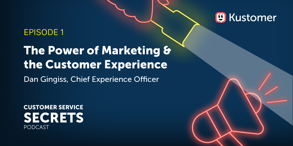 Podcast: How Customer Experience and Marketing are Intertwined TW